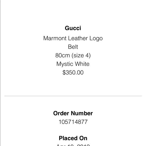 02b303a9b2e White Gucci thin marmont belt. NWT. Gucci. M 5caeb596248f7a3041cb7bde.  M 5caeb595d40008fe421a39ee. M 5caeb5989d3b78710f5b0649